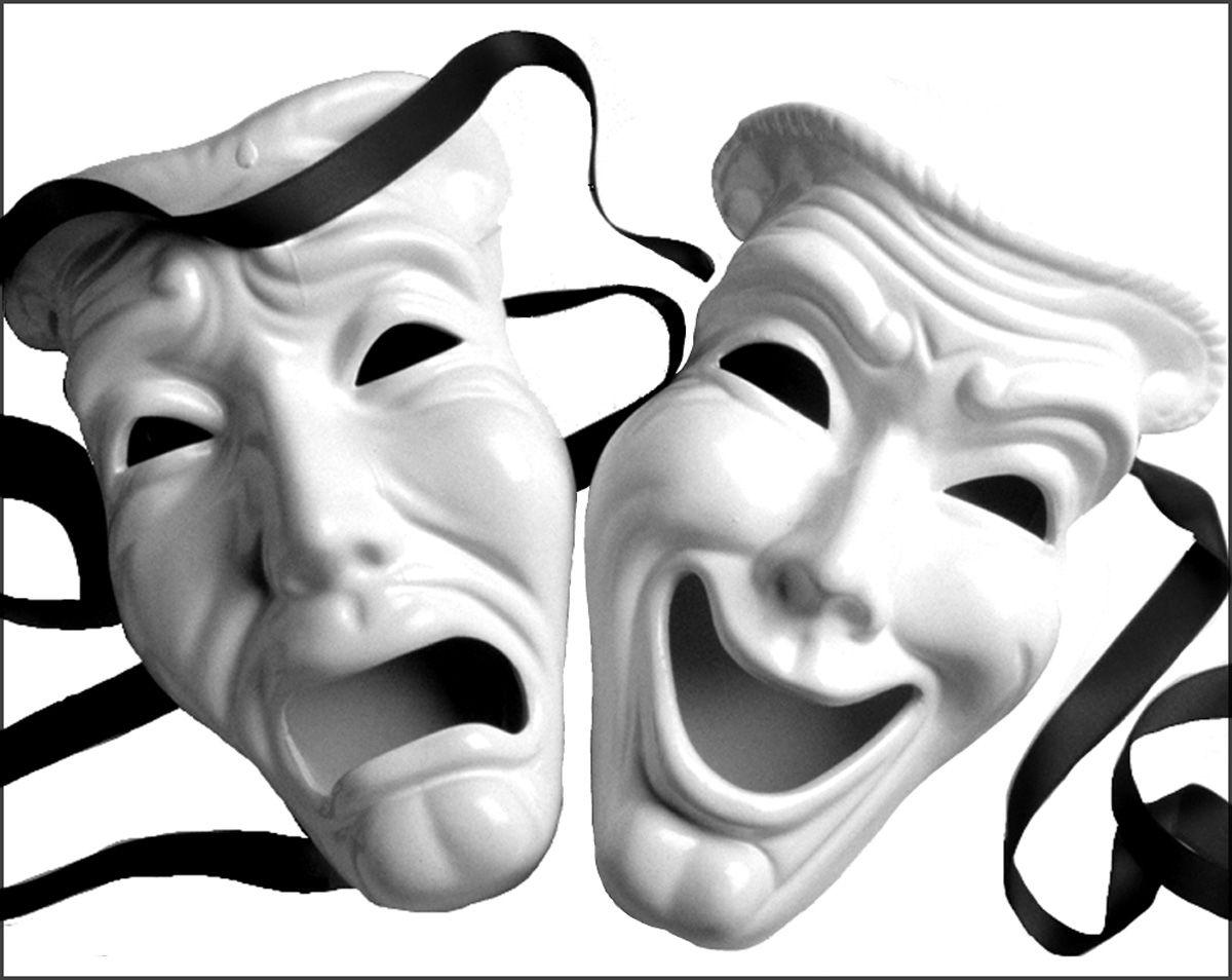 Greek Drama Masks Clipart 21 pictures of theatre masks | Logo ...