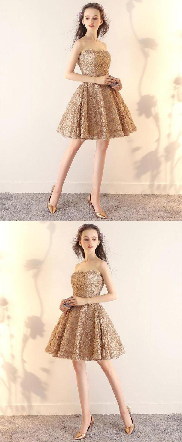 Prom dresses short champagne prom dresses prom dresses lace