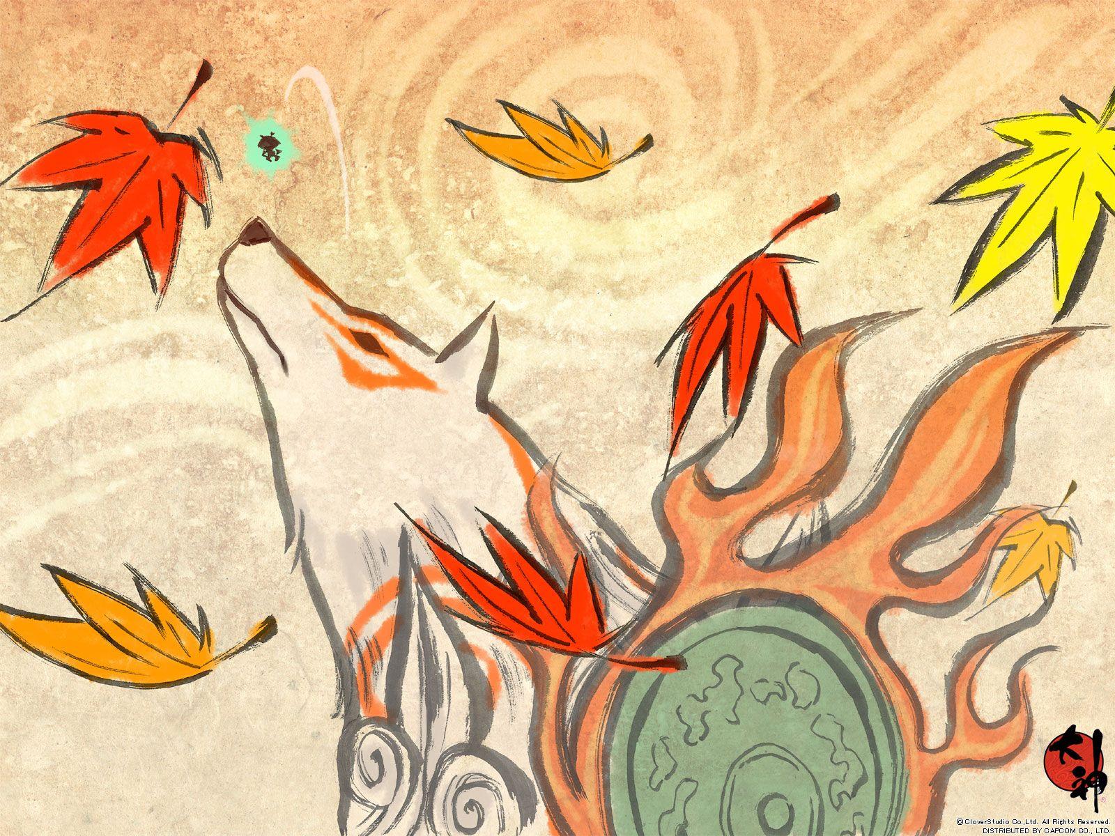 Mobile And Desktop Wallpaper Hd Japanese Art Okami Art