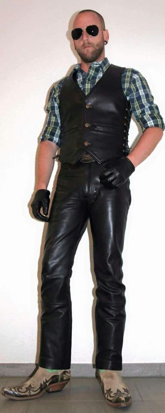 8432e1f829d1 Pantalon Cuir, Mode Homme, Pantalons En Cuir, Le Cuir Pour Hommes, Mode