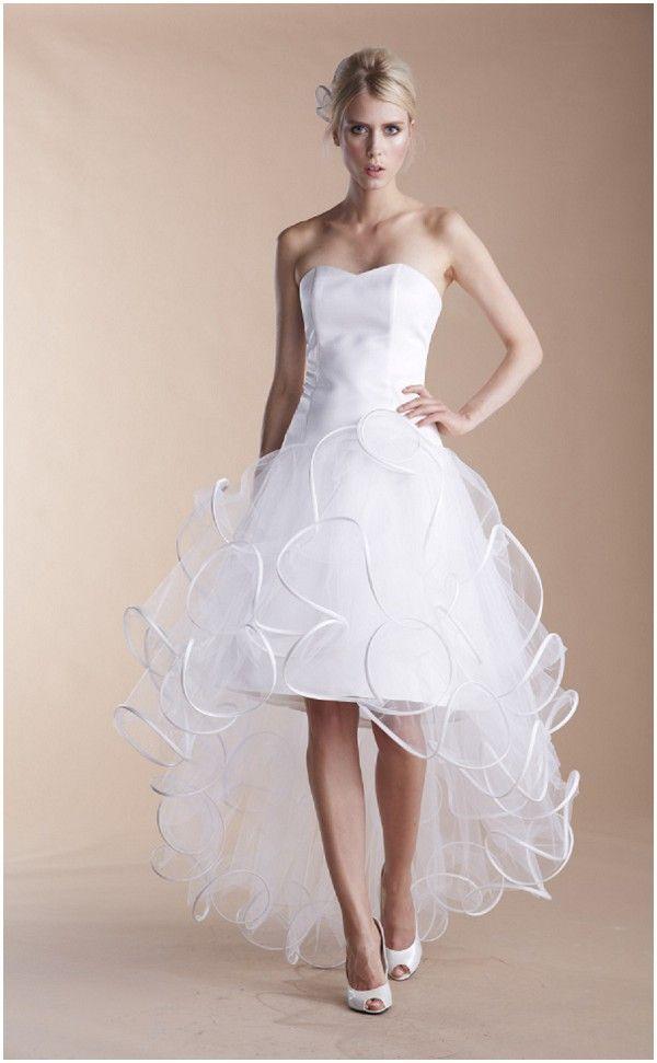 Meet Paris wedding dress designer Suzanne Ermann | Cocktail wedding ...