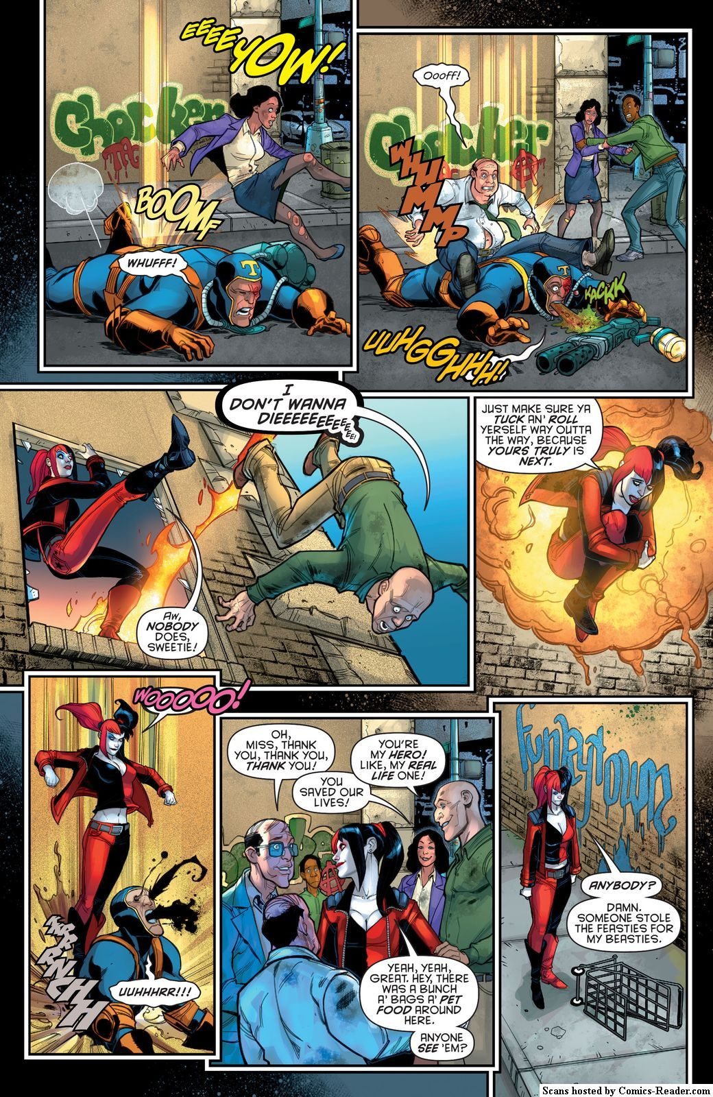 Page 10 :: Harley Quinn : New 52 [US] :: Chapter 15