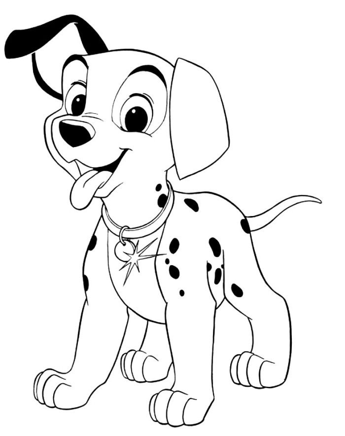 101 dalmatian coloring page disney pages on icoloringpages