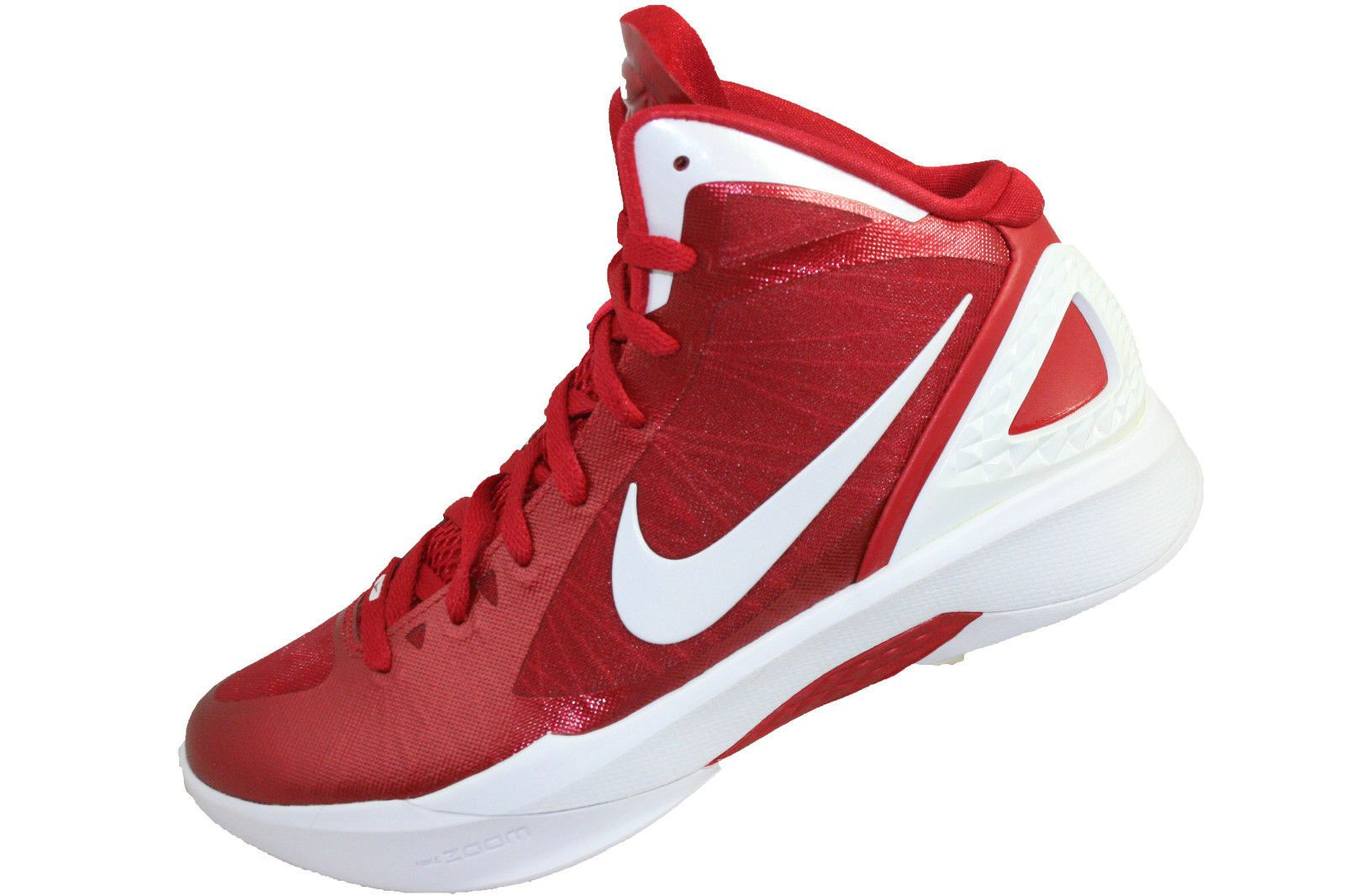 online retailer 71390 e9727 Womens Nike Zoom Hyperdunk 2011 TB Size 8.5 454150-600 red white silver