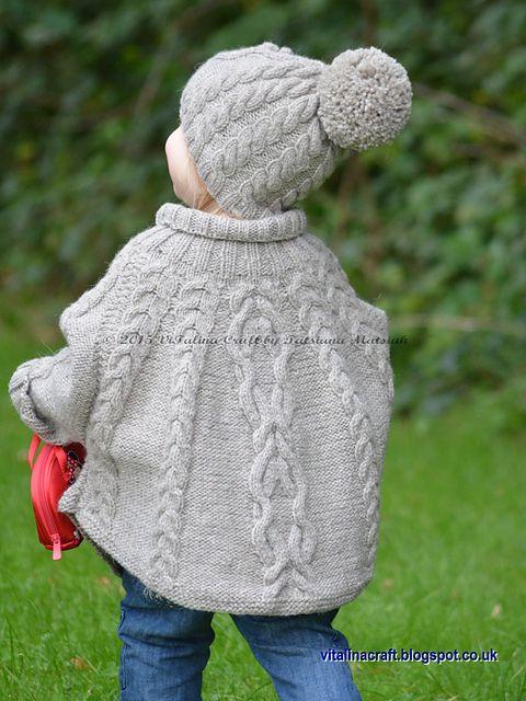 Temptation Poncho and Hat Set pattern by Tatsiana Matsiuk | Crochet ...