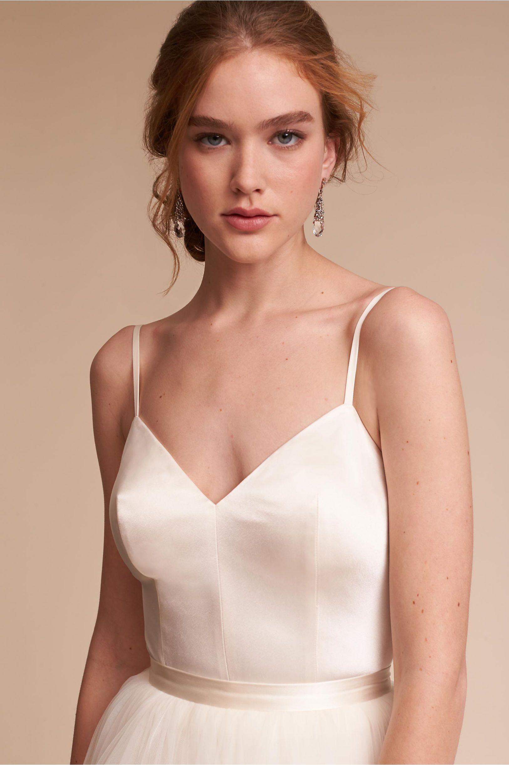 Wedding dress bodysuit  BHLDN Jewel Bodysuit u Delphi Skirt in Bride Bridal Separates