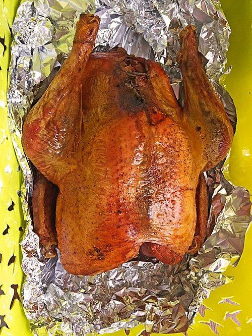 Thanksgiving - Truthahn mit Niedrigtemperatur gegart von Rotschopf80   Chefkoch