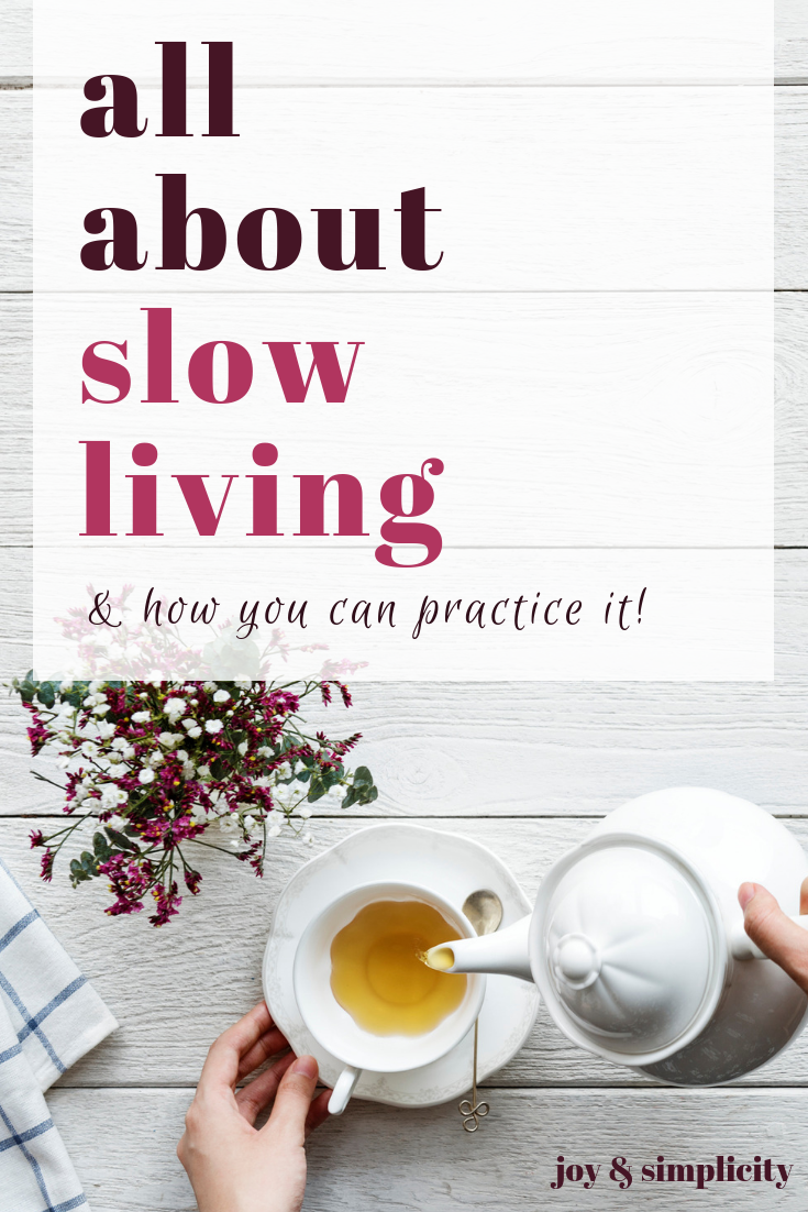 16 ways to practice slow living | #slowliving