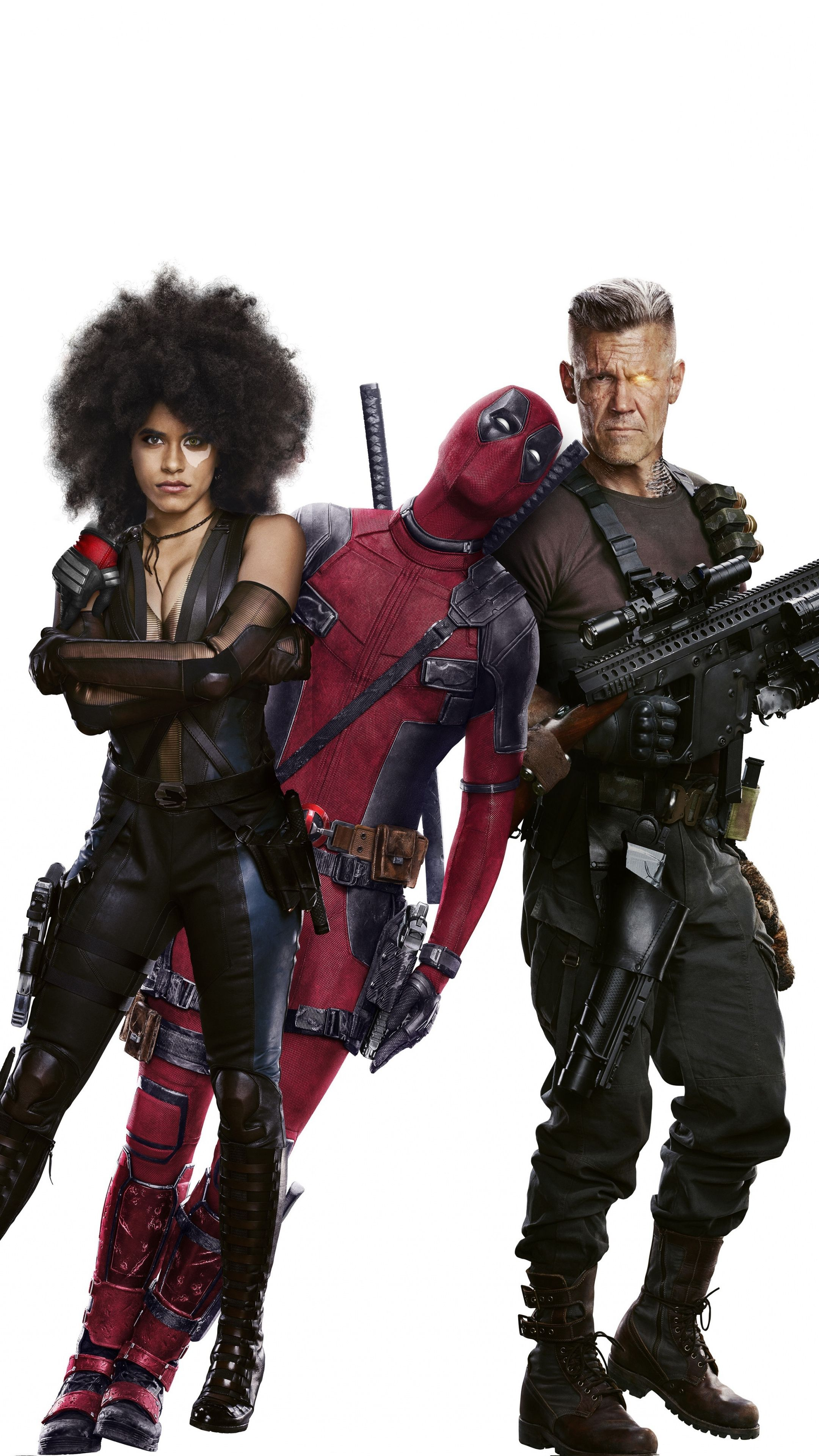 Download 2160x3840 Wallpaper Deadpool 2 Cable Movie Poster 2018