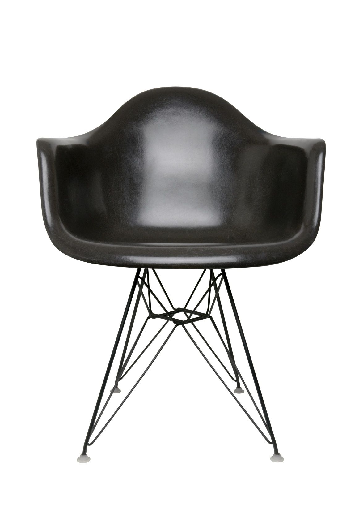 furniture, : great solid black eames chair with comfortable chair