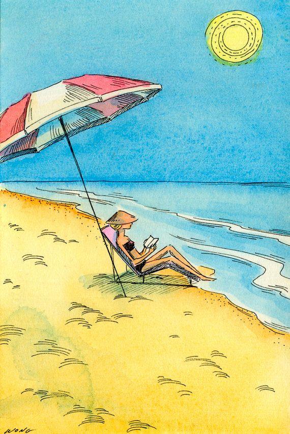 Beach Reading - Nicole Wong re-pinned by: http://sunnydaypublishing.com/books/