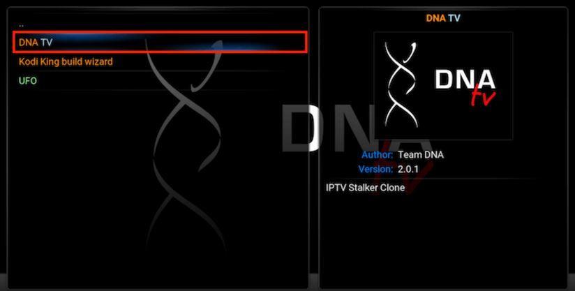 Kodi dna addon 2016 just released is a new iptv kodi dna