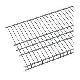 Closetmaid 6 Ft L X 16 In D Charcoal Wire Shelf Wire Shelving Closetmaid Pantry Shelf