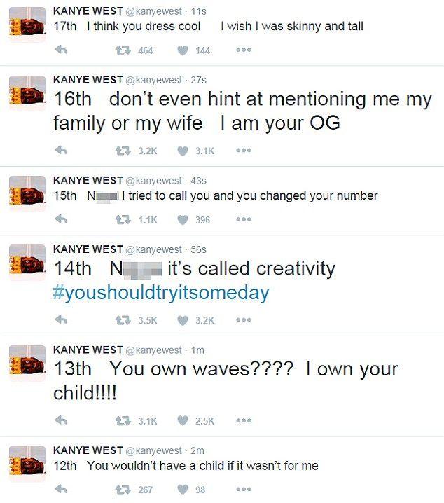 Kanye West Brushes Off Questions About Epic Wiz Khalifa Twitter Feud Kanye West Kanye The Wiz