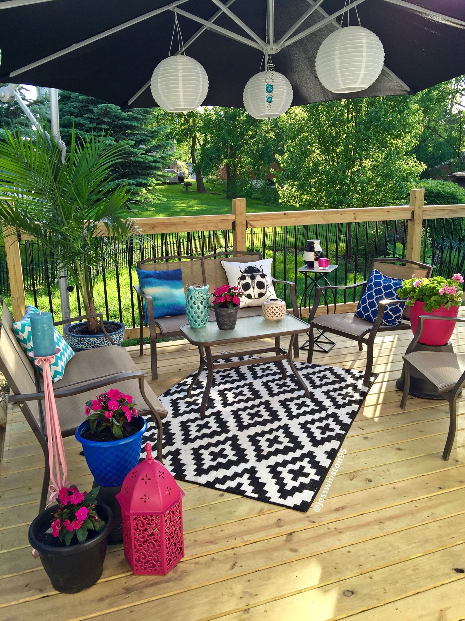 Deck Decorating On A Budget Layout
