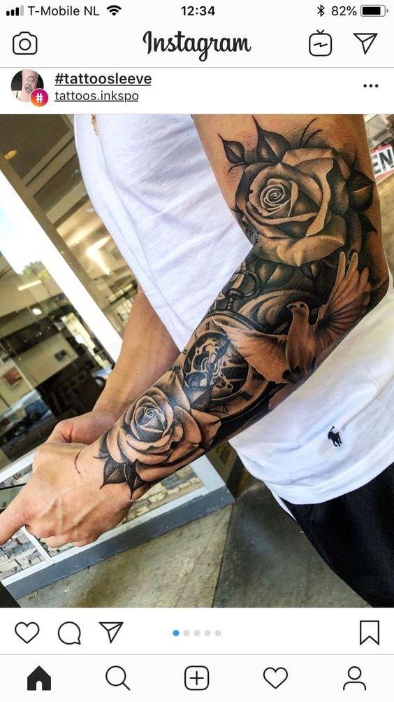 45 Fabulous Hand Tattoos For Men Half Sleeve Tattoos For Guys Sleeve Tattoos Cool Half Sleeve Tattoos