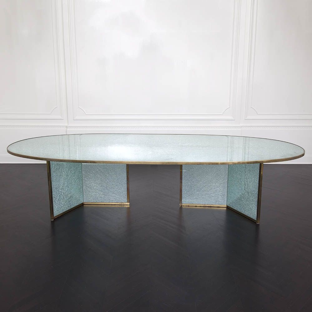 Fractured Racetrack Table Modern Table Modern Side Table Furniture Details [ 1000 x 1000 Pixel ]