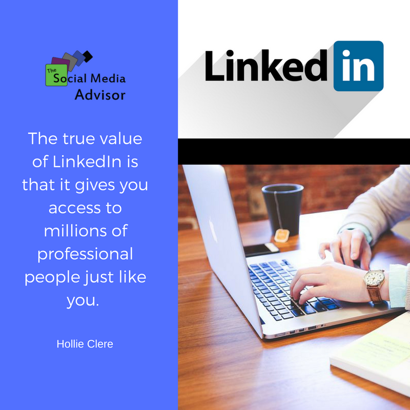 If Your Target Audience Resembles You Then Your Linkedin