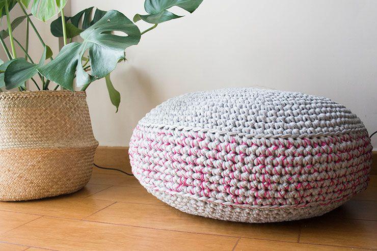 Encantador Patrón De Crochet Pouf Regalo - Patrón de Vestido de ...