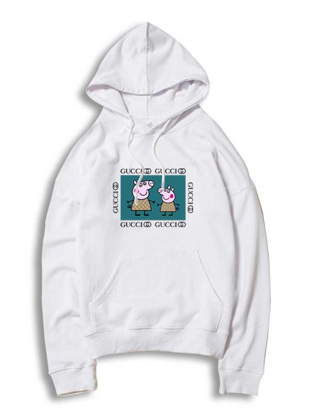 b115f9411a8d Peppa Pig Life Gucci Parody White Hoodie #Tee #Hype #Outfits #Outfit  #Hypebeast #fashion #shirt #Tees #Tops #Teen