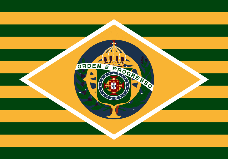 History Of Brazil In One Flag I M Very Displeased With This One Personally Speaking Vexillology Brazil Flag Flag History