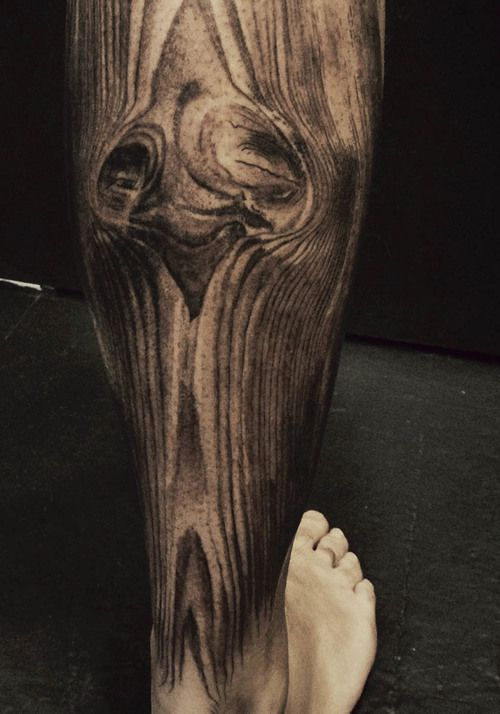 unbelievable wood grain tattoo by david allen expressions of self on self pinterest coole. Black Bedroom Furniture Sets. Home Design Ideas