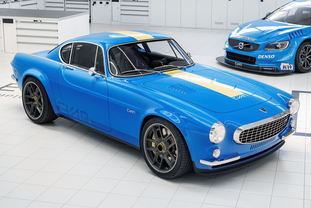 Volvo S Cyan Racing Finally Resurrected The Classic P1800 Sport Coupe Volvo Sports Coupe Volvo Cars