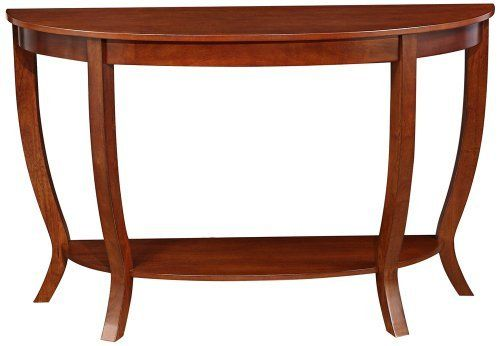Ella Cherry Wood Sofa Table By Universal Lighting And Decor