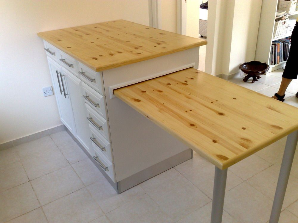 Small Kitchen Island With Pull Out Table