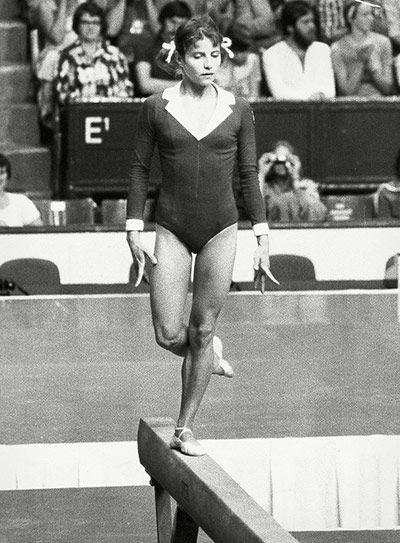 Olga Korbut Beam