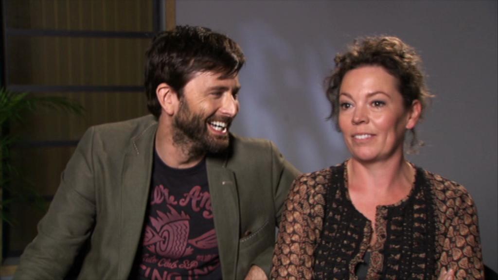 INTERVIEW: David Tennant & Olivia Colman On Chris Chibnall's Writing