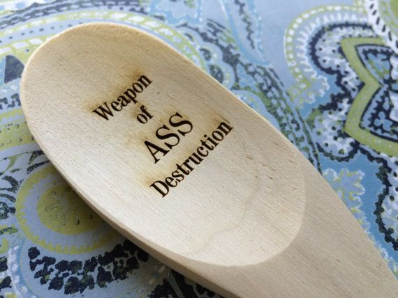 spank wooden spoon