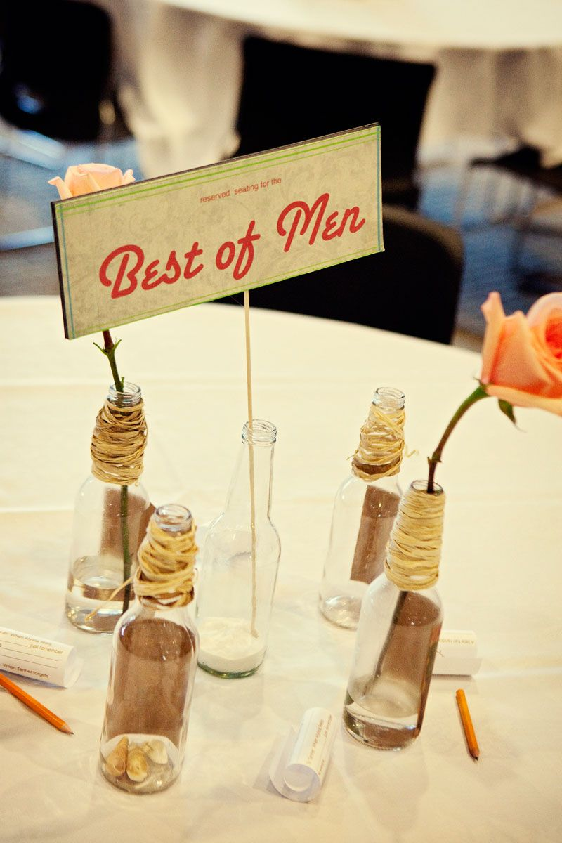 Fun sign reserving seating for the Groomsmen. Photo by Kristen Edwards Photography. #wedding #sign #groomsmen #reserved
