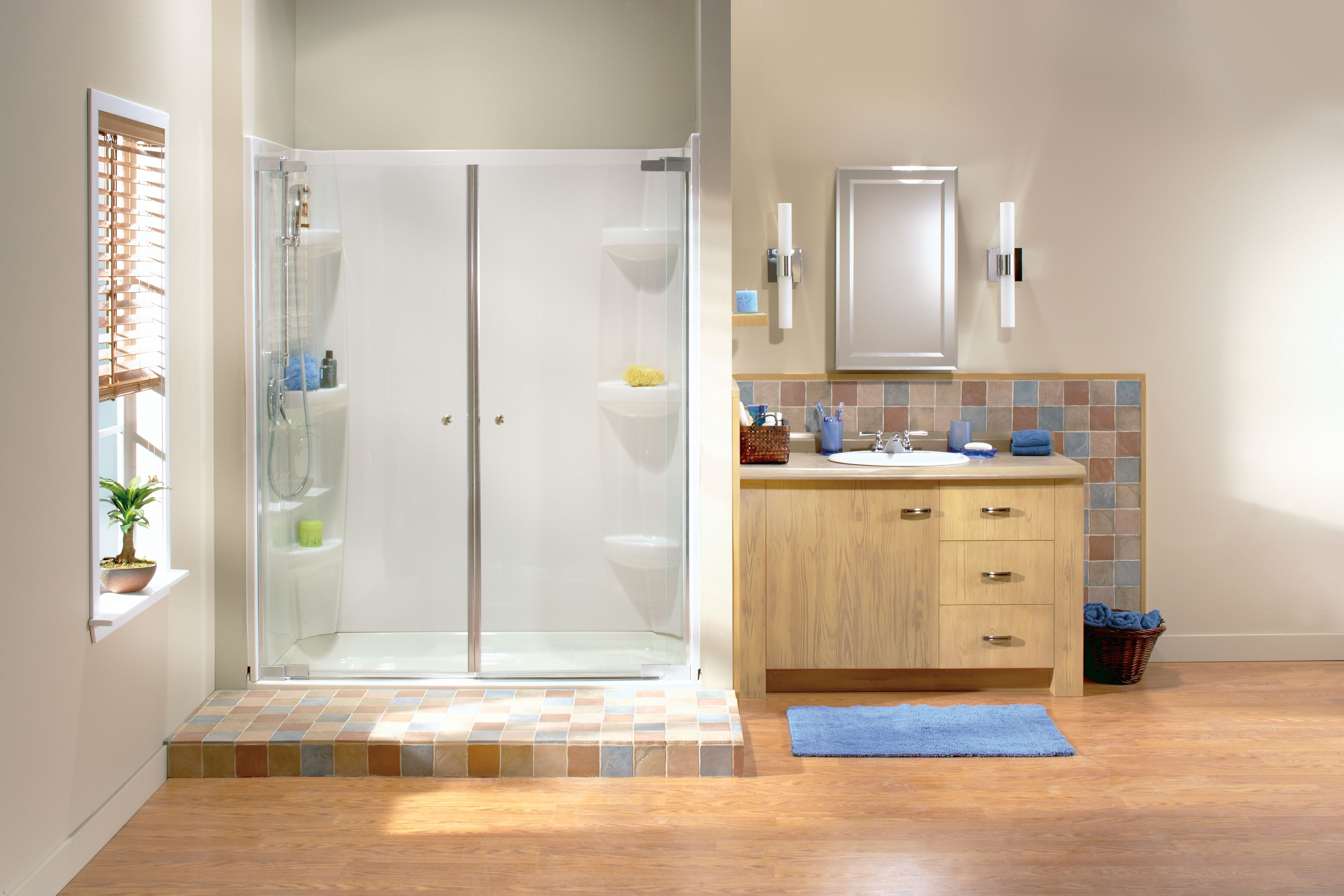 Kleara Double Pivot Shower Door Httpcommedesgarconsmademoiselle