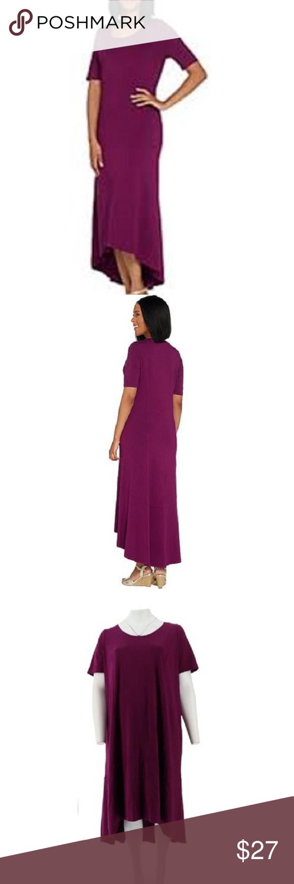 Qvc Size 18p 20p Petite Stretch Knit Maxi Dress Excellent Used Condition Isaac Mizrahi Designer Brand Purchased From Qvc Maxi Knit Dress Maxi Dress Dresses [ 1740 x 580 Pixel ]