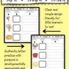 Say It • Stamp It •  Write It! Initial sound stamping and writing center/activity Super engaging and purposeful!