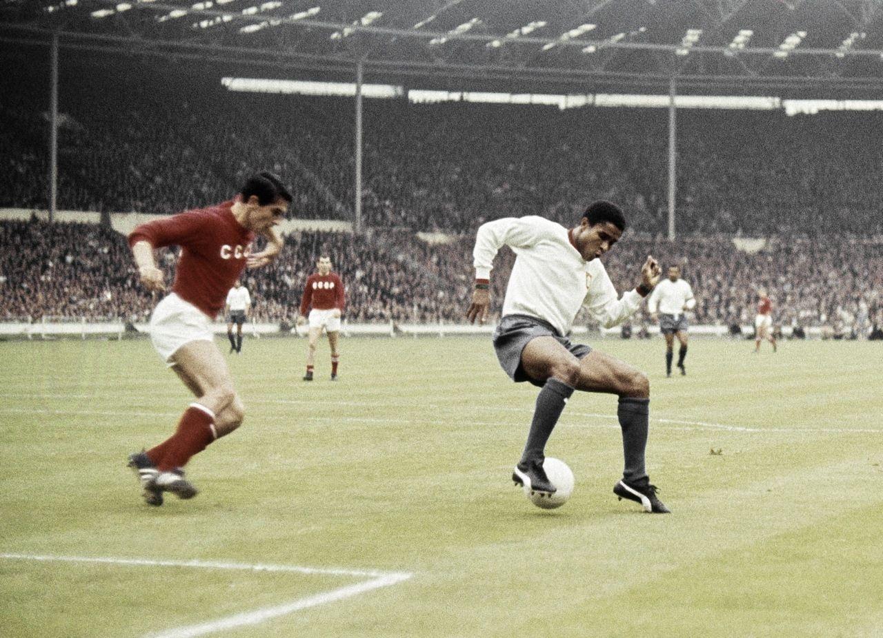 Uni£o Soviética e Portugal de Eusébio na Copa do Mundo da