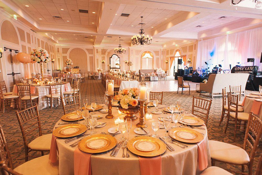 Peach Gold Lakewood Ranch Wedding Coral Weddings