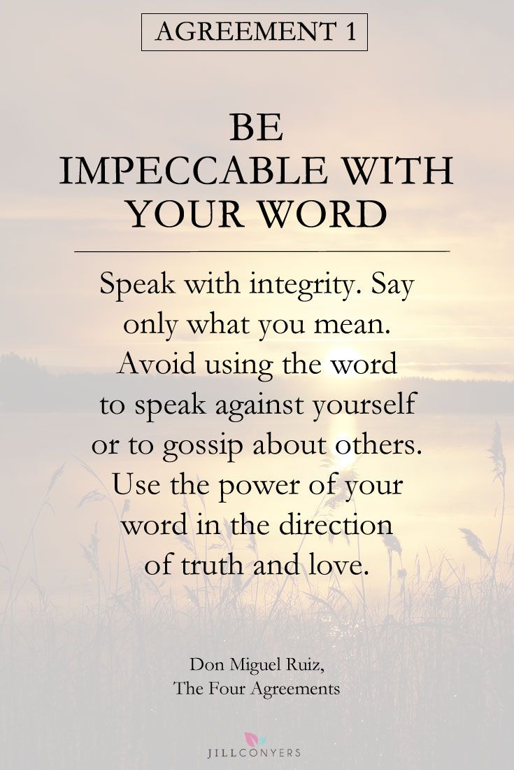 Quotes About Peace And Love The Four Agreements  Don Miguel Ruiz Gives Four Principles As A