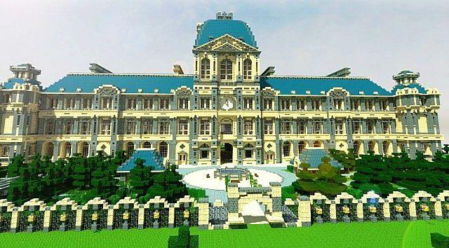 Luxury Mansion Minecraft Building Ideas House Design 3