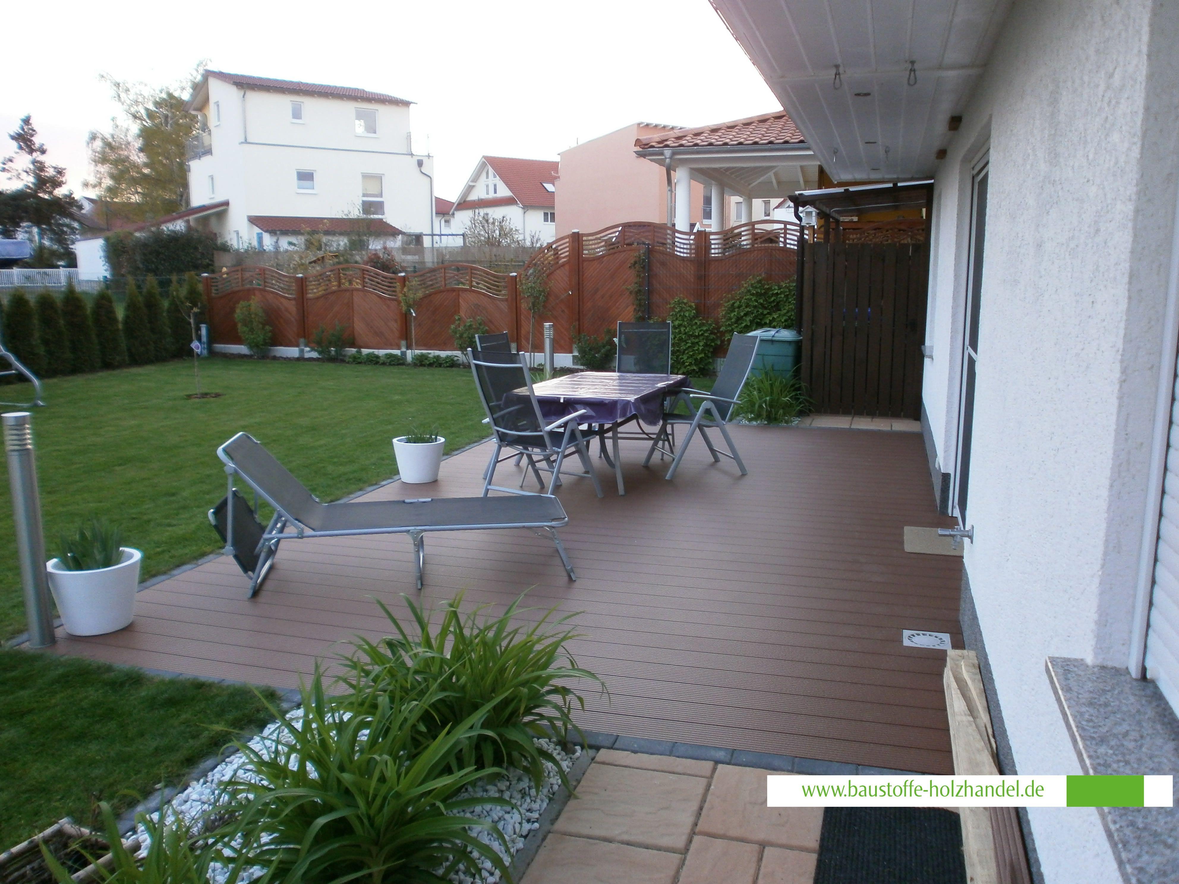 Upm Profi Design Deck 150 In Herbstbraun Garten Terrassen Aus Upm