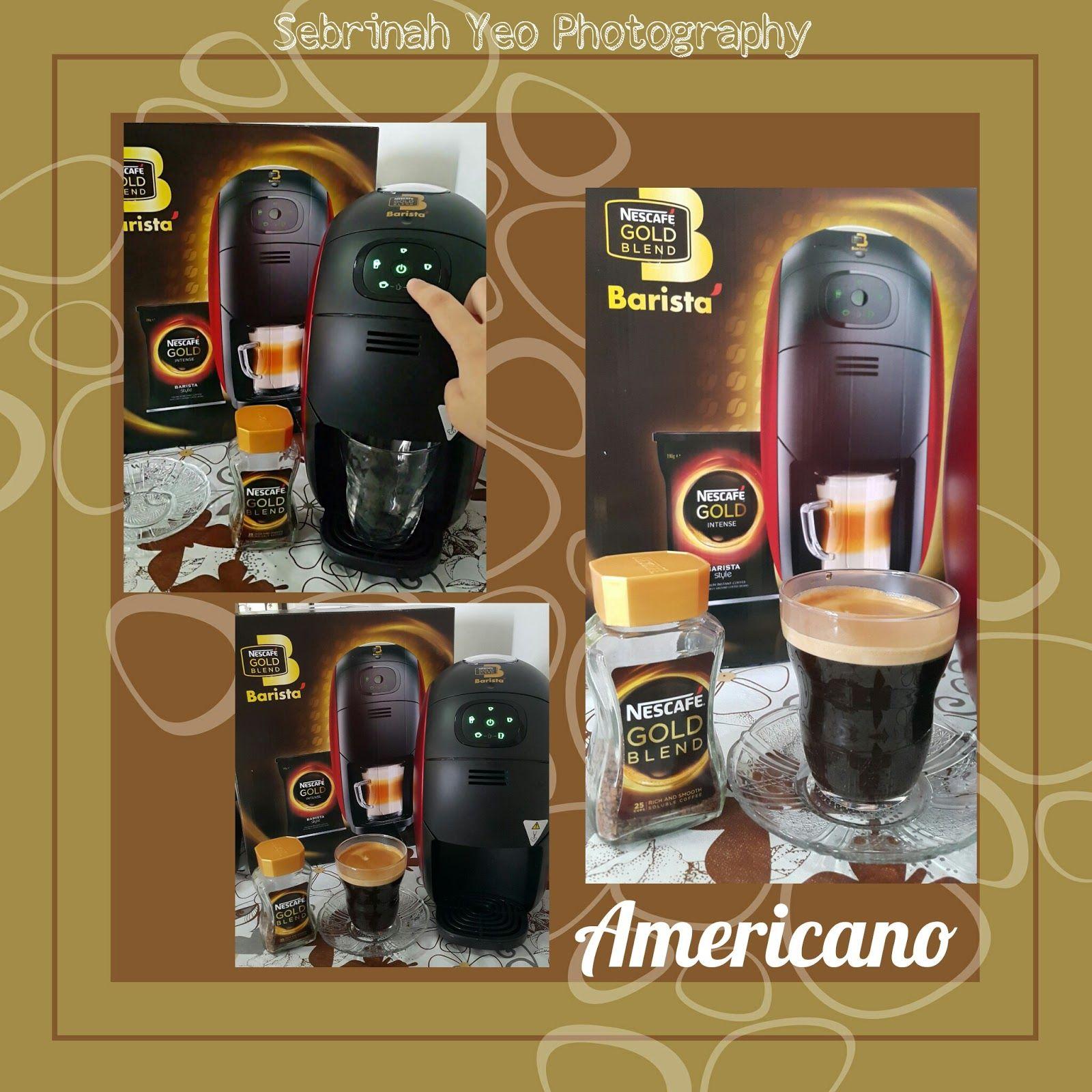 NESCAFE Gold Blend Barista Machine Malaysia Review