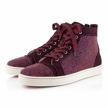 83f88e8358c8 Christian Louboutin Louis Strass Mens Flat in Purple for Men - Lyst