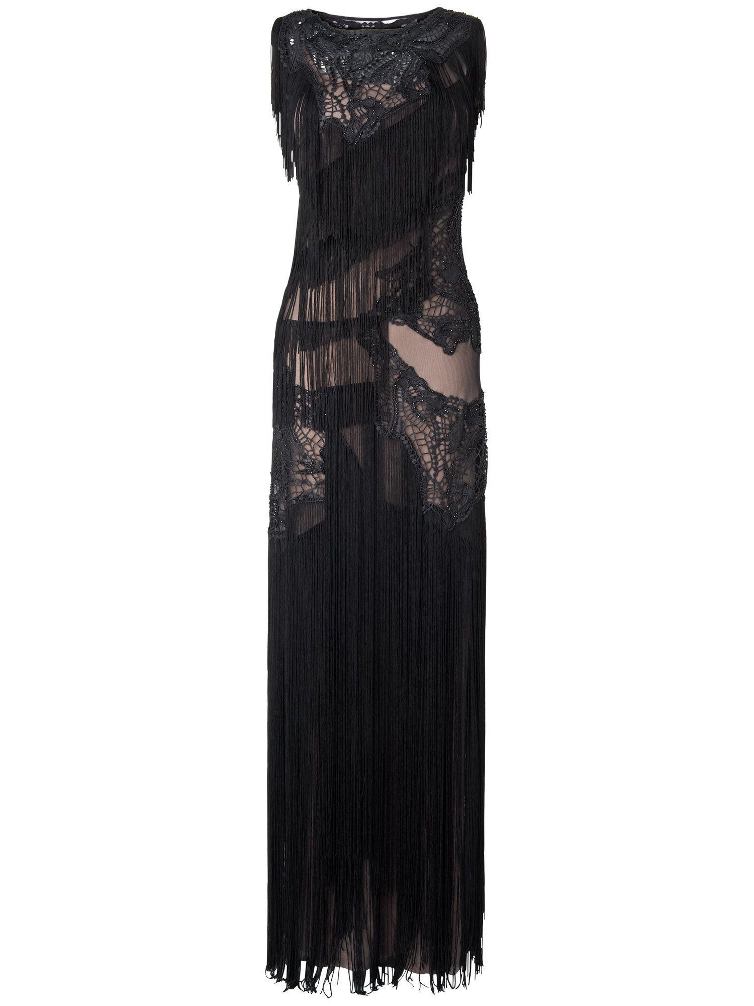Fringe dress cheap uk