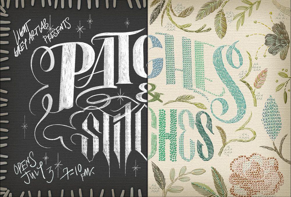 Light Grey Art Lab — Patches + Stitches Exhibition