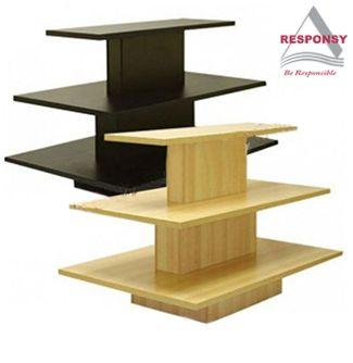 Wooden Tabletop Display Rack Table Top Display Retail Fixtures Retail Display