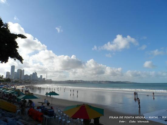 Praia de Ponta Negra - Natal - RN Foto : Cida Werneck