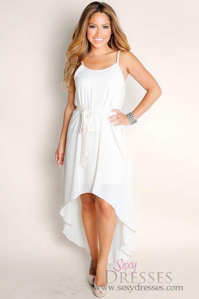 Summer Flowy High Low Dress