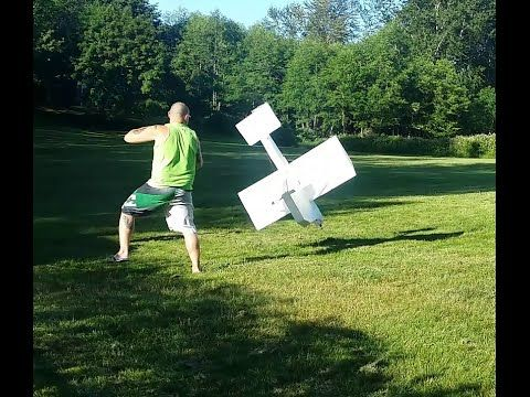 Help! RC Plane crashes.