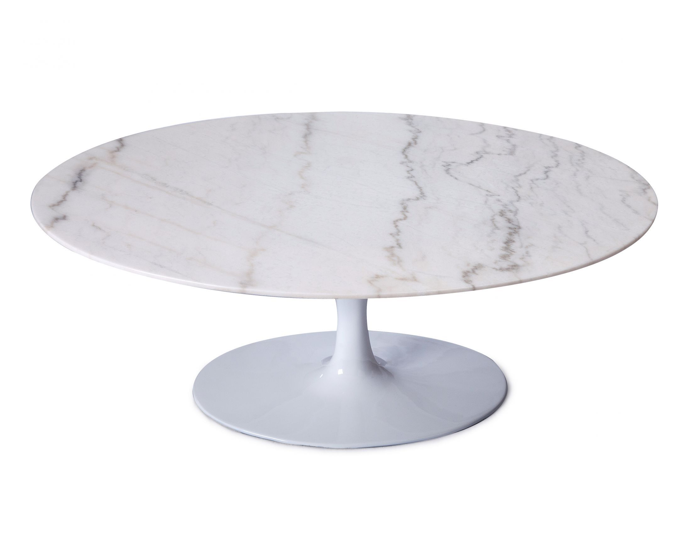 Saarinen Coffee Table   Oval | Mid Century Modern | Reproduction